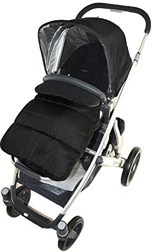 Cosy Toes Baby Compatible with Cybex Broderie Anglaise Car Seat Footmuff