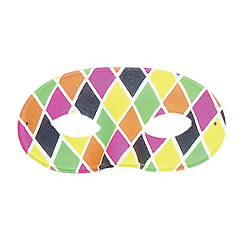 Harlequin Eye Mask. Large, Male
