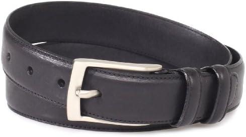 Florsheim Men s Italian Full Grain Leather Single Stitched Edge 32mm Black 34 product image