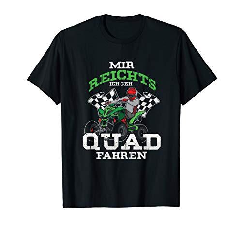 Ich Geh Quad Fahren Quads Quadfahrer Motorsport ATV Geschenk T-Shirt