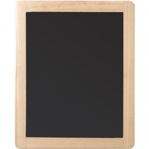 """Plaid Double Sided Framed Chalkboard, 8.5""""X10.5"""", 1 Pack"""
