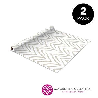 Self Adhesive Shelf Liner - 1.5ft x 10ft 2 Pack - Zebra Natural