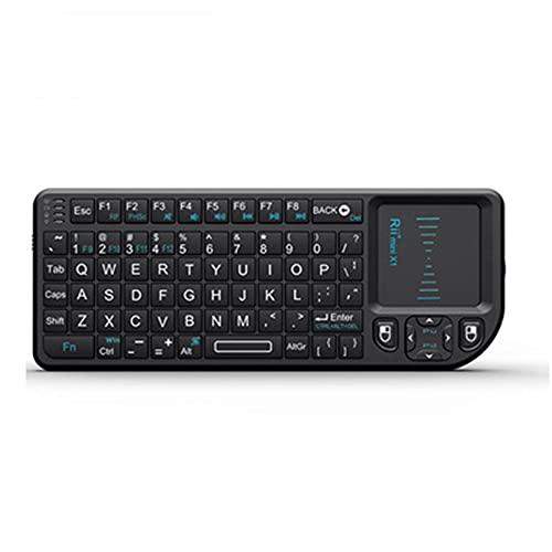 LG&S Mini Teclado inalámbrico con touchpad Mouse para portátiles/computadora/IPTV/Smart TV/Android Box