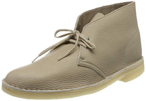 Clarks, Stivali Desert Boots Uomo, Beige (Sand Leather Sand Leather), 41 EU