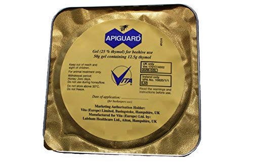Blythewood Bee Company Apiguard Varroa Mite Treatment 1 Pack