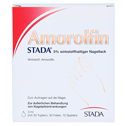 Amorolfin STADA Nagellack bei Nagelpilz, 3 ml Lösung