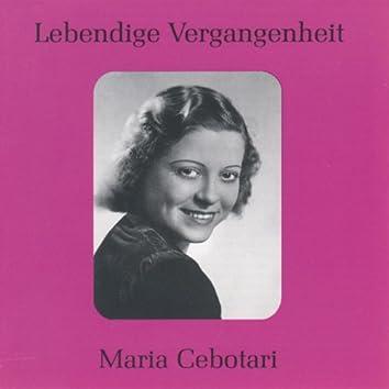 Lebendige Vergangenheit - Maria Cebotari