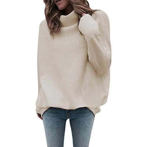Coltrui trui vrouwen solide lange mouwen coltrui gebreide trui trui trui top blouse