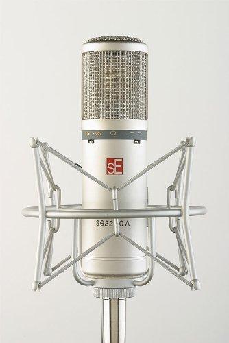 SE Electronics 2200A Studio Microfoon deels verguld incl. accessoires
