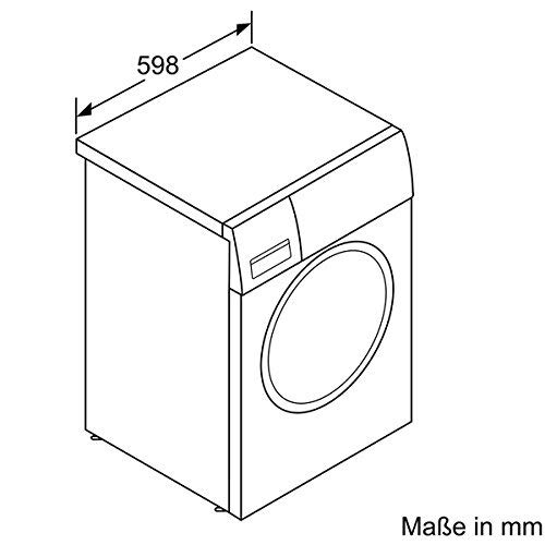 Bosch WAW28500 Serie 8 Waschmaschine Frontlader / A+++ / 152 kWh/Jahr / 1400 UpM / 9 kg / weiß / Home Connect / i-DOS Dosierautomatik