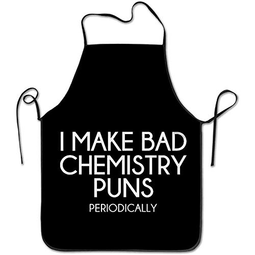 Myrdora Lustige Wissenschaft Mache ich schlechte Chemie-Wortspiele Coole Schürze Küchen-Schürze