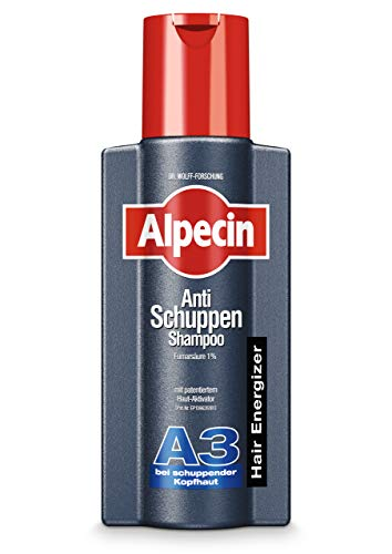 Alpecin Anti-Schuppen Shampoo A3, 1 x 250 ml - Bei schuppender Kopfhaut