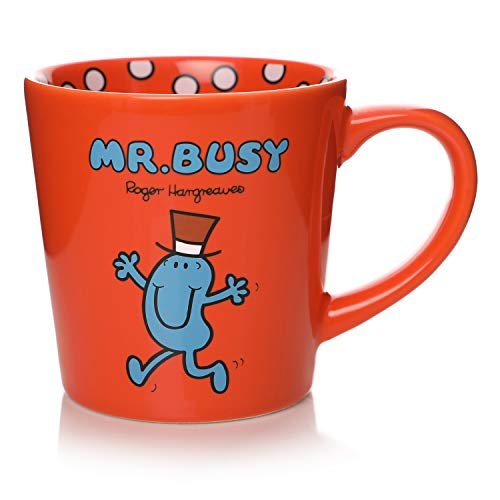 Official Mr Busy Tapered Mug