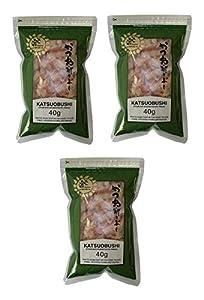 Katsuobushi (secados y ahumados escamas del bonito) 40g (3 Pack)