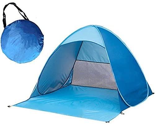 Zaitime Toldo de playa portátil Pop Up, para jardín, camping, pesca, tienda de campaña