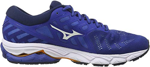 Mizuno Herren Wave Ultima 11 Laufschuhe, Blau (Blue/Wht/Dress Blues 08), 43 EU