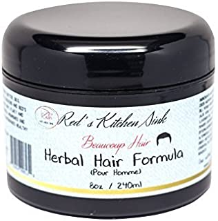 Beaucoup Hair Herbal Hair Formula For Men - JUMBO by Red's Kitchen Sink