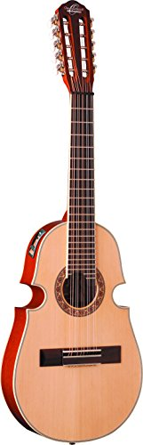 Oscar Schmidt OQ40SE Acoustic-Electric Latin Cuatro with Bag