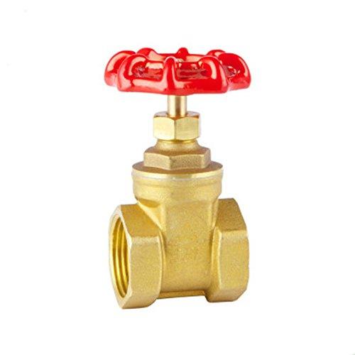 MiYan Tapón de válvulas de bola resistente con aislador de unión 3/4