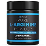 Havasu Nutrition Extra Strength L-Arginine Pre Workout Powder; 1200 mg Nitric Oxide Supplement for Muscle Growth and Energy; 30 Servings (3.7 G)