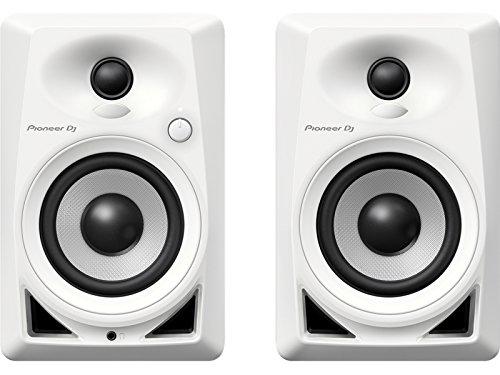Pioneer DM-40-W Weiß Lautsprecher - Wechselstrom 110-240 V, 50-60 Hz, Tisch/Regal/DJ, integriert