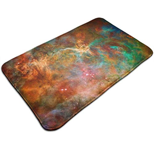 LXJ-CQ Badezimmerteppichmatte (31,5 x 19,5 Zoll), extra weiche und saugfähige Teppiche, Maschinenfußmatten, Carina-Nebel im Sternbild Argo Navis