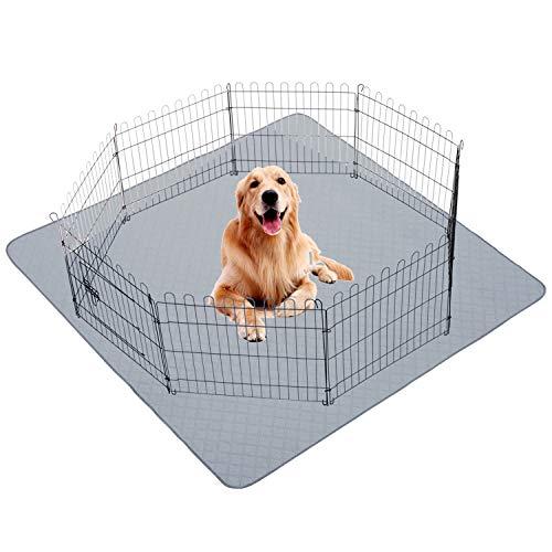 CJYMMFAN Washable Pee Pads for Dogs72 x 72