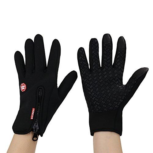 Eizur Winddicht Skidproof Touchscreen Handschuhe Sporthandschuhe Schal, Unisex Winter Outdoor Warme Winterhandschuhe Radhandschuhe Skihandschuhe für Skifahren Radfahren Wandern Jagd Kletter Camping