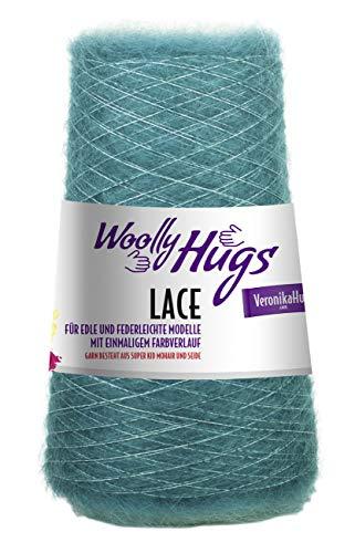 Woolly Hugs Lace, Fino Hilado de Encaje Con Gradiente de Color, Súper Kid Mohair Y Seda para Hacer Punto,Ganchillo O Como Hilo Auxiliar - 68