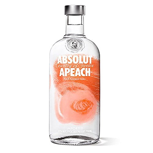 Vodka Absolut Melocotón 40 ° 70 CL