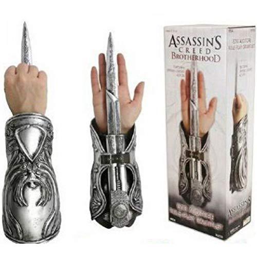 Assassin's Creed 3 Ezio Golden Blade COSPLAY Requisiten 1: 1 Hidden Blade Modell geeignet für Geburtstagsgeschenke für Teenager