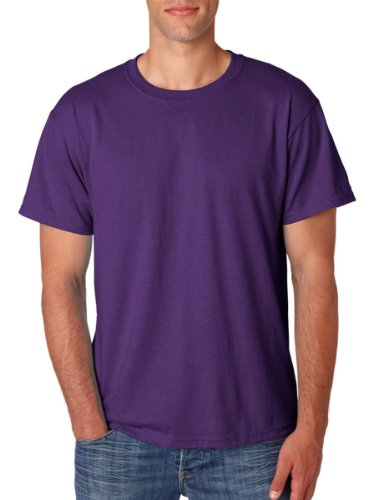 Jerzees 5.6 oz, 50/50 Heavyweight Blend T-Shirt, XL, DEEP Purple