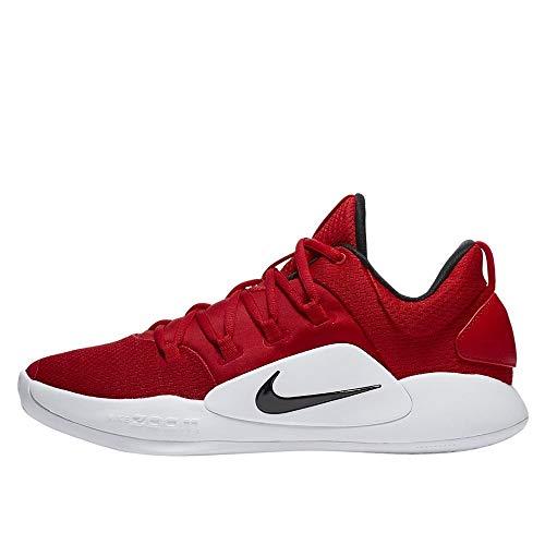 Nike Herren Hyperdunk X Low Tb Fitnessschuhe, Mehrfarbig (University Red/Black/White 600), 46 EU