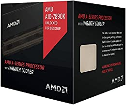 Advance micro device AMD A10 7890K A-Series APU with Radeon R7 Graphics & Wraith Cooler 4.1 4 AD789KXDJCHBX