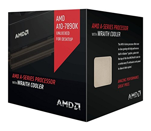 AMD A10-7890K A-Series Processor con Wraith cooler
