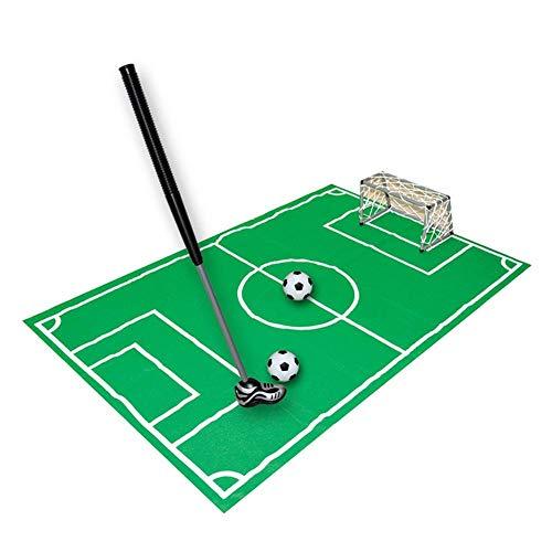 Freedomanoth Toilette Fußball Spiel Mann WC Fußball Set Töpfchen Putter Badezimmer Spiel Neuheit Putting Geschenk Spielzeug Trainer Set Geschenk Für Die Familie