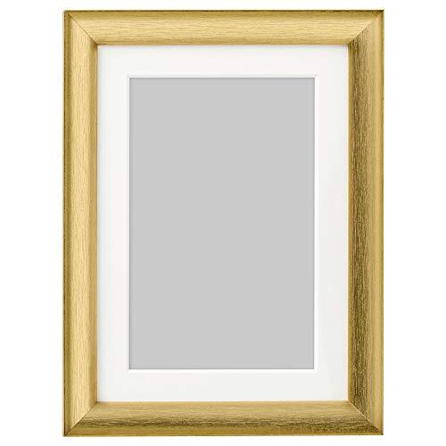 SILVERHÖJDEN ram 13 x 18 cm guldfärgad