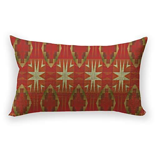 Hustor Funda de almohada para sofá, cama, coche, 30,5 x 50,8 cm, color beige