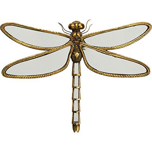 Kare WTD Dragonfly Mirror - Cuadro de Pared (45 cm, Parte Frontal...