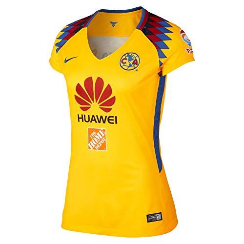 Nike Womens 2018 Club America Third Jersey Large Tour Yellow/Varsity Royal/Varsity Royal