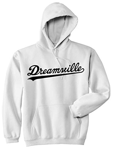 Hoodie Dreamville J Cole Black Hip hop Pullover Fleece Sweater S White