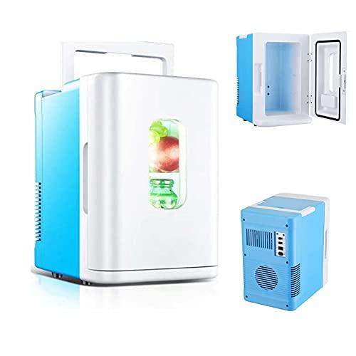Mini Nevera, 10 litros nevera portatil electrica, para Dormitorio, Oficina, Coche, Dormitorio,para el Cuidado de la Piel, Almacenamiento de Maquillaje