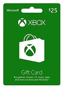 Microsoft GC-Xbox LIVE EN/ES US Medialess 25 USD - Xbox 360