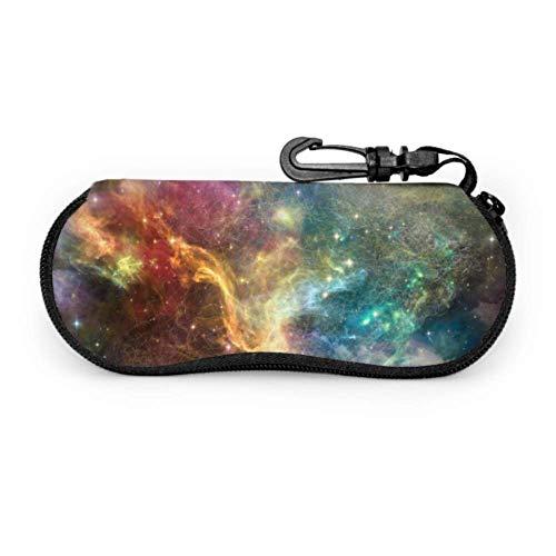 Estuche para gafas con mosquetón Serie Once Upon Space Telón de fondo...