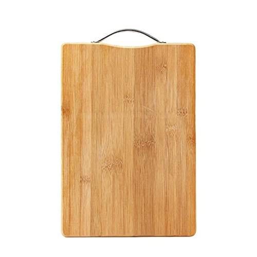 Cocina Tablero Tablero de madera Frutas vegetales al aire libre Camping Alimento Tablero de corte Rectángulo Carnes Cortar tabla de cortar (Color : E)