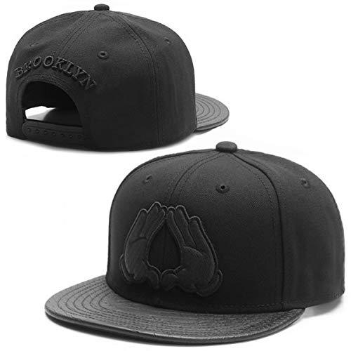 Sombrero Snapback Hombres Mujeres Adultos Hip Hop Headwear al Aire Libre Casual Gorra de béisbol para el Sol-A20-Adjustable