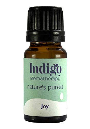 Indigo Herbs Freude | Joy ätherische Ölmischung 10ml - Zitrone, Bergamotte und Grapefruit ätherisches Öle