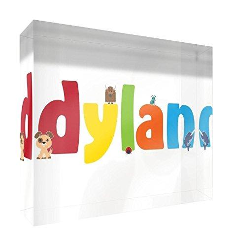 Feel Good Art Souvenir poli Diamant (Dylan, petit, 10,5 x 7,4 x 2 cm)
