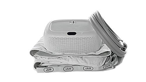 "ChiliSleep OOLER Sleep System – Cooling and Heating Mattress Pad – Precise Temperature Control, Perfect Sleep Regulation, App and Sleep Schedule Integration (Half Cal King (84"" L x 36"" W))"