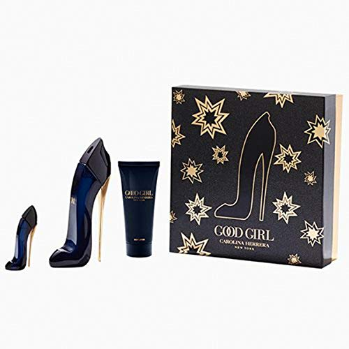Good Girl Lote Carolina Herrera - Eau de Parfum spray 80 ml + Body lotion 100 ml + Eau de Parfum spray 7 ml